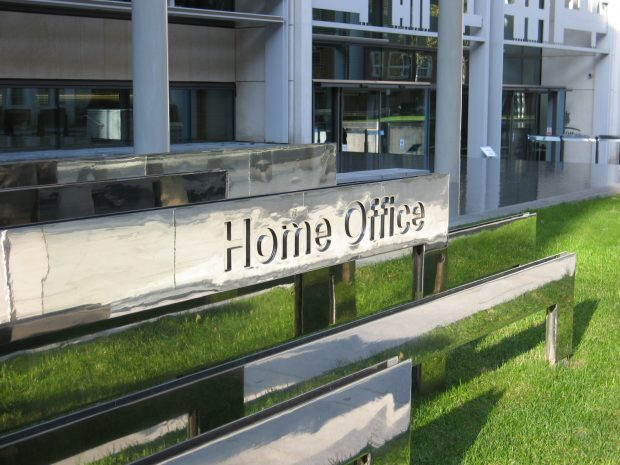 Photo of Home Office sign