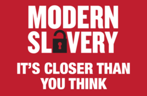 Modern slavery - it's closer than you think