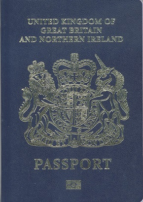 New passport cover