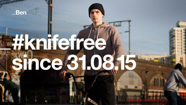 KnifeFree campaign launched.
